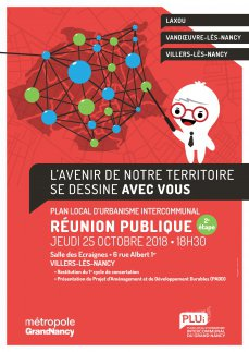 Réunion publique sur le Plan Local d'Urbanisme intercommunal du Grand Nancy